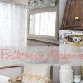 Bathroom Makeover- Tulips & A Terrier